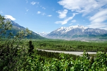 Along Richardson Highway Alaska