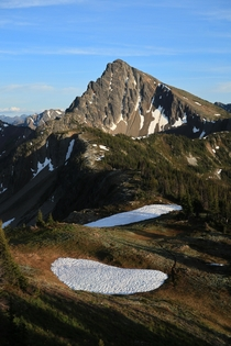 Along the Pacific Crest Trail North Cascades Washington