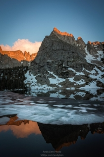 Alpenglow in Indian Peaks Wilderness