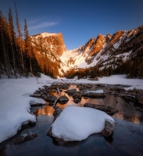 Alpenglow in Rocky Mountain National Park
