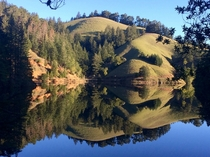 Alpine Lake Mt Tamalpais Watershed CA