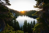 Alpine Lakes Wilderness Solo Sunrise