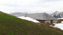 Alpine stablecowshed Le Pr Aveneyre Switzerland