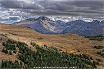 Alpine Tundra Ecosystem of Rocky Mountain National Park Colorado
