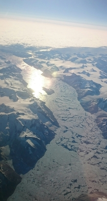 Also ask for a window seat when flying over Greenland x