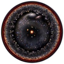 Alternate version of the observable universe image   Image by Pablo Budassi