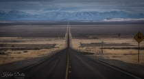 Alvord Desert Road Oregon -