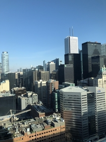 Always love the Toronto skyline