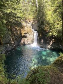 Always on the lookout for new swimming holes found another one Mt Rainier National Park