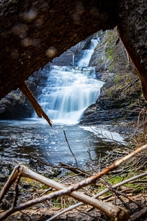 Always Take the Scenic Route Raymondskill Falls just south of Millford Pennsylvania  - IG mikebarrphotography