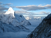 Ama Dablam from Island Peak Nepal- By Chalet La Foret