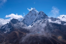 Ama Dablam on my way to Everest base camp