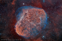Amazin what is out there - Crescent nebula