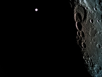 Amazing moon and Earth picture from Beresheet - Israeli spaceship to the moon
