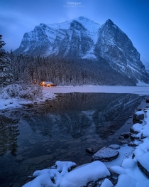 Amazing mountain view Lake Louise Alberta Canada