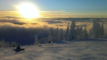 Amazing view at Cypress Mountain BC