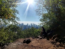 Amazing View of Donwtown Montreal from Mont Royal