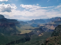 Amazing view of the Grand Canyon from south kaibab trail  Arizona
