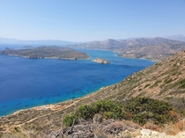 Amazing view to Spinalonga east Crete  x