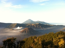 Amazing views from Mount Bromo Indonesia