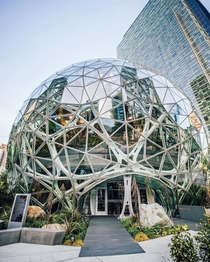 Amazon headquarters in Seattle