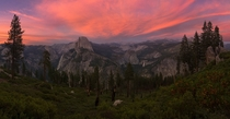 American Beauty - Yosemite National Park after Sunset