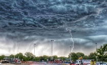 American fork utah had a very scary looking storm yesterday absolutely breathtaking