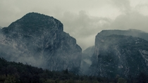 Among the misty mountains Verdon Gorge France  instagram liamsearphoto