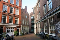 Amsterdam Tight Alley -