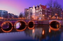 Amsterdam Twilight  photo by Sunil Chawla
