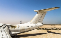 An abandoned cargo plane in the UAE desert that is rumored to have been used by Viktor Bout to smuggle weapons In the s the movie Lord of war is based on him