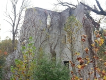 An abandoned castle in Ohio