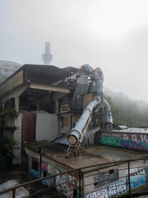 An abandoned cement plant in France that I visited yesterday with some friends Closed since