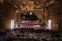 An abandoned cinema  by JSK