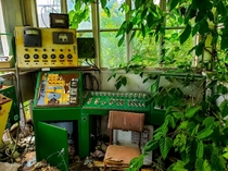 An abandoned control room at a Old Asphalt Plant in LaSalle IL
