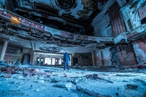 An abandoned early s theater