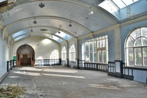 An Abandoned Factory Ballroom