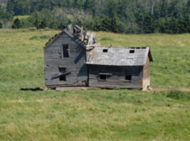 An abandoned farm house in Alberta