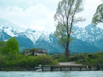 An Abandoned Ferry on the Bank of the Snake River Grand Teton National Park WY