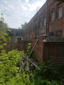 An abandoned file factory which housed a grow op at one point