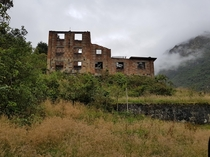 An abandoned German brewery in Cajas national park in Ecuador