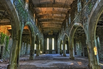 An abandoned gothic style church - built in  to hold up to  worshippers - closed in  after years of problems with the roof  Photographed by Martyn Smith