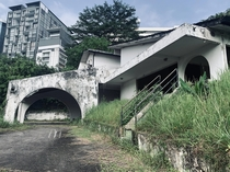 An abandoned home in the middle of Kuala Lumpur Malaysia