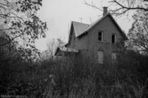 An abandoned house discovered at random in rural Ontario Canada OC