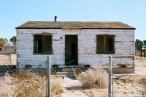 An abandoned house in Yermo California