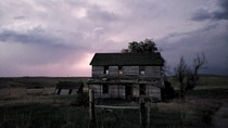 An abandoned house near Crawford Nebraska Took this shot last night as a storm was moving off