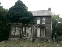 An abandoned house was a fever hospital for small pox patients Due to be demolished UK