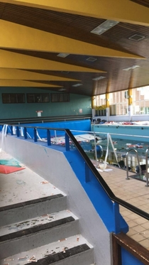An abandoned leisure centre in my area
