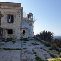 An abandoned Lighthouse in Palermo Italy