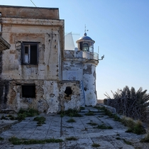 An abandoned Lighthouse in Palermo Italy Sadly I couldnt get over the fence to take a closer look